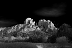 Drama At Cathedral Rock