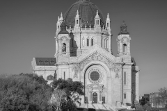 Cathedral of Saint Paul in Black and White