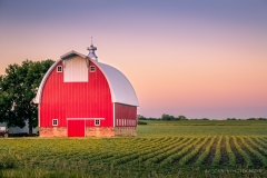Classic Red and White Barn